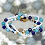 Дизайнерские бусы из натуральных камней от BRimar : ода женской красоте!